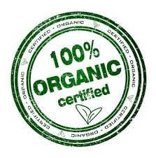 100% Organic Certified label